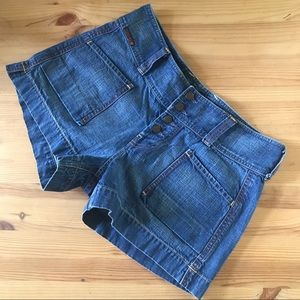 Lucky Brand Vintage Rare Jean Shorts